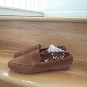 A new day brown flats size 6